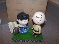 JIM SHORE - PEANUTS FIGURINE - NEVER GIVE UP #4042376 Vaughan