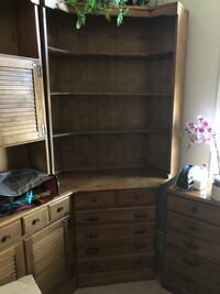 Dresser and Bookcase Brampton, L6R 1W5