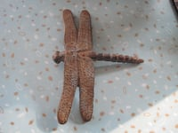 Vintage Cast Iron Folk Art Dragonfly Art Piece Winnipeg