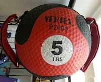Vertex P2000 5lb Medicine Ball. It's a low-bounce  Woodstock, 22664