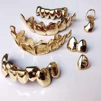 Gold and silver grillz Pickering, L1W 2M1