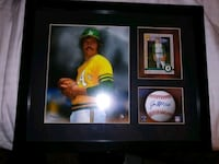 Jim Catfish Hunter HOF picture plaque with rookie  Reno, 89501