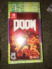 Doom Nintendo switch  Woodbridge, 22192
