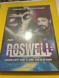 Roswell-Cover-Ups and Close Encounters DVD! Chicago