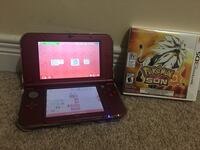 Nintendo 3ds xl red  552 km