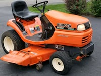 orange and black Husqvarna riding mower Ashburn, 20148