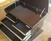 black and gray metal tool chest 2259 mi