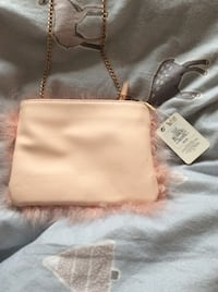 Women's pink fluffy bag  Dartford, DA2 6HT