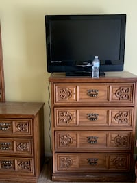 Chest of drawers,dresser and TV