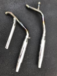 Factory stock pipes for 1987 Harley Softail motorcycle. Make an offer. Montague, 07827