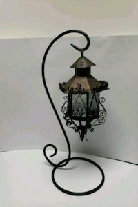 Beautiful Antique Lantern with stand Sterling