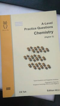 A level Practice questions chemistry  Singapore