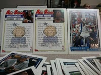 All Star basketball trading cards