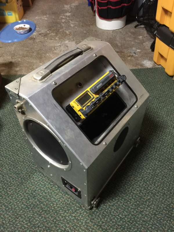 A buddy box for Truckers  It has am/fm radio and CB holder  Fm speakers and  a CB speaker