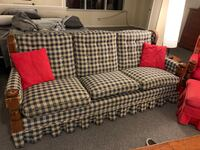 Amish Made Couches and Chair from 70's