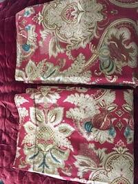 red and white floral textile Parrish, 34219
