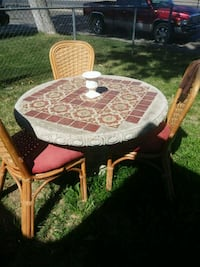 Stone table and chairs Citrus Heights, 95621