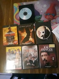 assorted DVD movie a lot of diffrent ones Houston, 77072