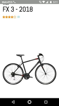 black and red hardtail mountain bike Central Falls, 02863