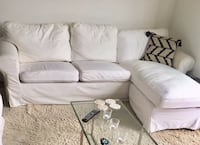 White sofa, only used 1,5 year, brand new!  New York
