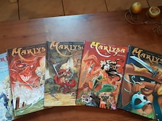 Collection  Marlysa cycle des origines tomes.