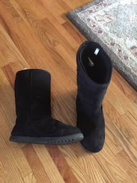 Black Ugg TYPE ( NOT ACTUALLY UGGS) boots Size 5