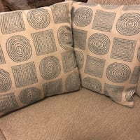 (2) Patterned Pillows  Gaithersburg, 20879