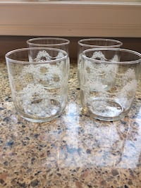 Holiday Drinking Glasses 363 mi