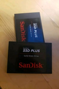 2 NEW- SanDisk SSD Plus 960 GB SATA III