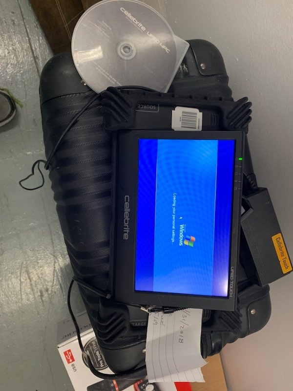 Cellebrite UFED Touch Cellphone Forensic Extractio