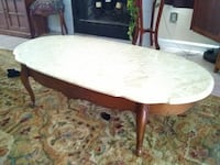 Real Marble Coffee Table Longwood, 32750