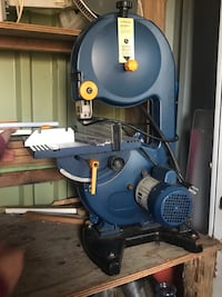 Blue and black miter saw London, N6E 2B6