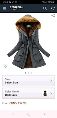 Brand new winter jacket for age 10 to 12