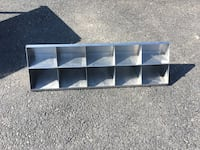 Stainless Steel  Compartment Shelf  Wellsville, 17365