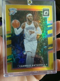 Gold prizm card Teays Valley, 25560