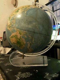 Planet earth on acrylic stand 2179 mi