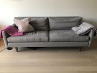Room & Board Campbell sofa grey (86inches)