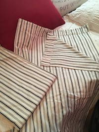 IKEA thick cotton curtains-2 panels