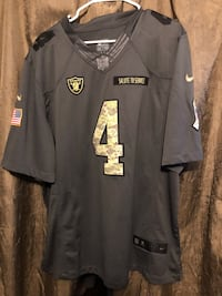 Oakland Raiders Carr jersey Grand Junction, 81505