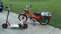 1976 Honda ct 90cc and stand up gas scooter. Easley, 29640
