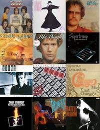 PERSONAL VINYL RECORD COLLECTION FOR SALE Mississauga, L5W 1J9