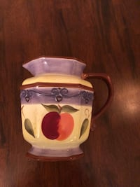 Ceramic water jug, juice pitcher, sangria pitcher Montreal, H4H 2N2