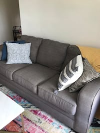Grey Memory Foam Sofa Chevy Chase, 20815