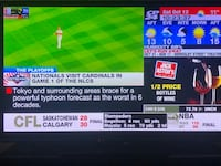 55 inch 3D HD TV in excellent condition 3D glasses are included Toronto