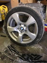 BMW style 157 wheels with Michelin tires London
