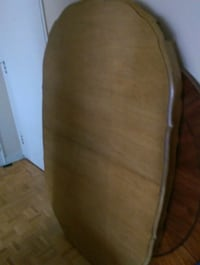 brown wooden bed headboard and footboard Toronto, M3C