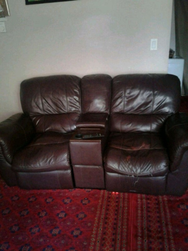 Leather sofa 3 Seat