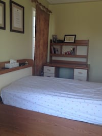 5 pieces bedroom set with mattress  560 km