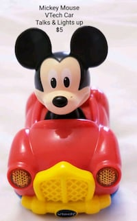 Mickey Mouse Vtech Car - $5 Toronto, M9B 6C4