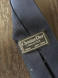 bleu Christian Dior Cravates cravate Paris, 75019